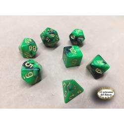 Dados verde Primigenio