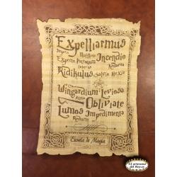 Hechizo de escuela de magia de Harry Potter