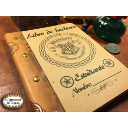 Libro de hechizos de estudiante de Hogwarts
