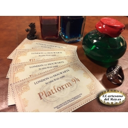 Carta personalizada de Hogwarts