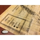 Fichas personalizadas en papiro