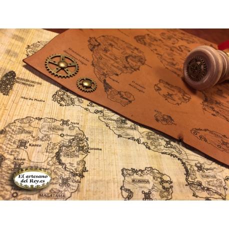 Mapas y papiros del crowdfunding DeusXmachina