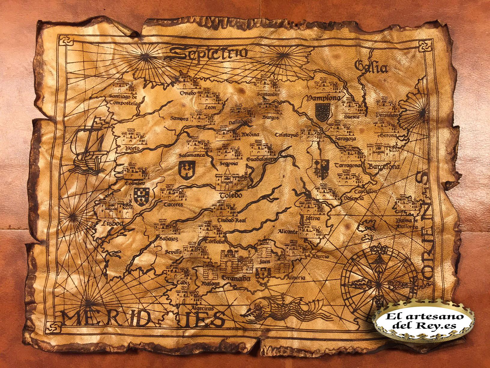 Mapa El artesano del rey