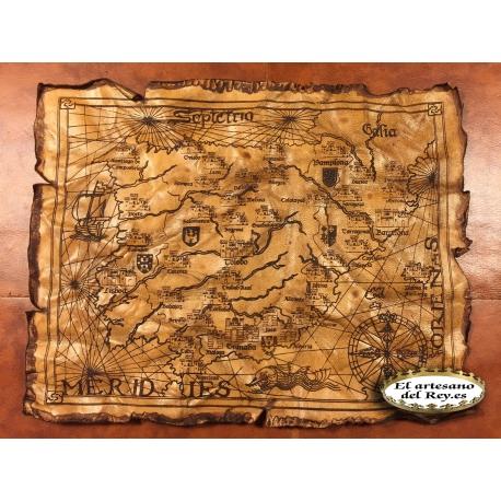 Mapa Aquelarre 25 aniversario