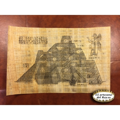 Prototipo papiro original para Eneko Menica